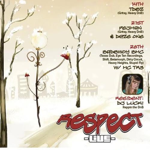 TDBZ LIVE @ Lucki Junglette's - Respect Live Show on EDJ - 12.14.09