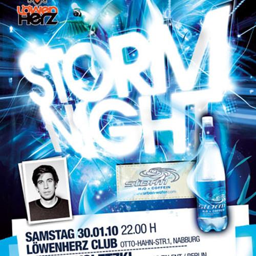 Juergen D live @ loewenherz club 30.01.2010 StormNight