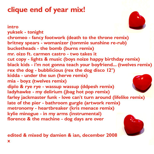 Clique - End of Year Mix