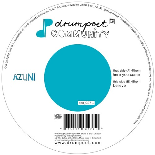 AZUNI - Here you come