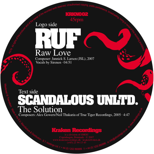 KRKN002B - Scandalous Unltd. - The Solution (Transition master)