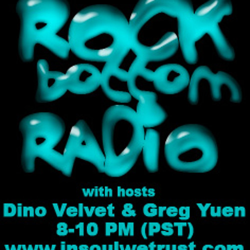 Dino Velvet Live on Rock Bottom Radio episode 1
