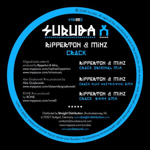 Ripperton & Minz - Crack (Rone remix). SXD002