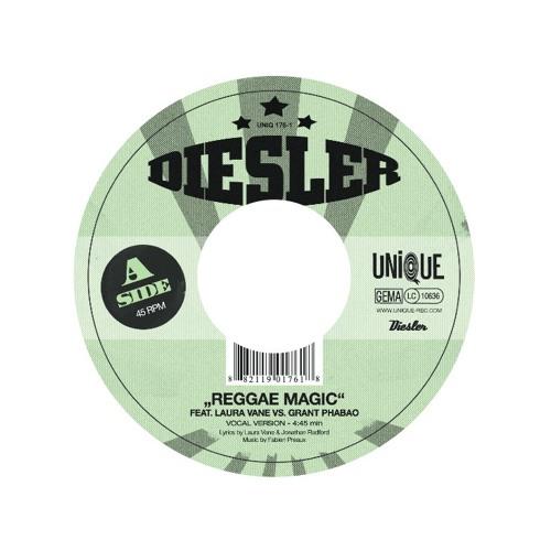 Diesler ft. Laura Vane VS Grant Phabao - Reggae Magic (Dub)