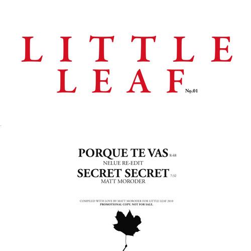☆ little leaf ☆ # 01- Secret Secret