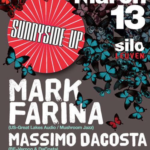 Massimo DaCosta @ SunnySide Up (Silo-Leuven) - 13th March 2010