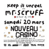 Mr Scruff live DJ mix from Nouveau Casino, Paris, Sat 20th March 2010