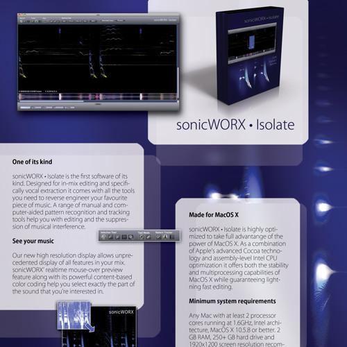 Various sonicWORX De-Mixing (Voice Isolation) Examples