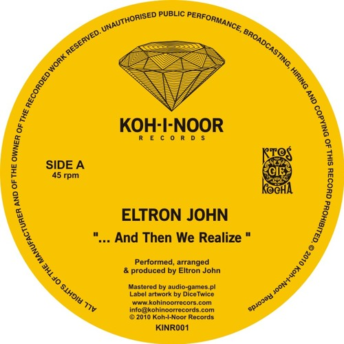 KINR001 Eltron John - ... And Then We Realize