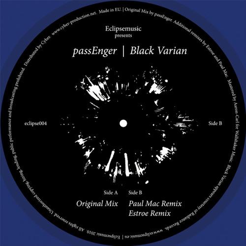 PassEnger - Black Varian (Estroe Remix) Eclipse
