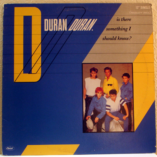 Duran Duran - Is There Something I Should Know ? (Extended Vocal Mix - RARE)