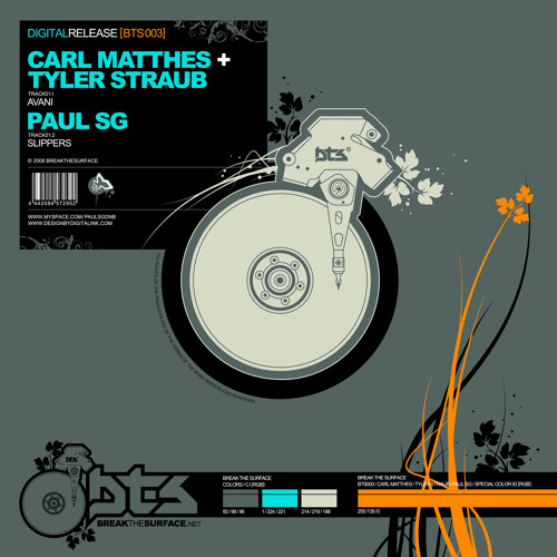 Carl Matthes and Tyler Straub - Avani - Break The Surface Recs