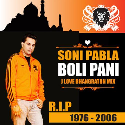 Soni Pabla - Boli Pani (J Love R.I.P Bhangraton Mix) - 102-BPM