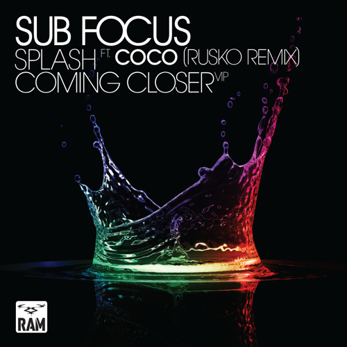 Sub Focus - Splash -  Feat Coco (Rusko Remix)
