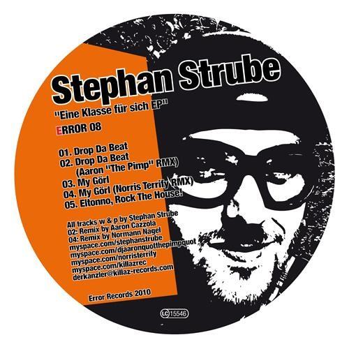 """Error 08 - Eine Klasse Für Sich EP - Stephan Strube, Aaron """"The Pimp"""", Norris Terrify"""