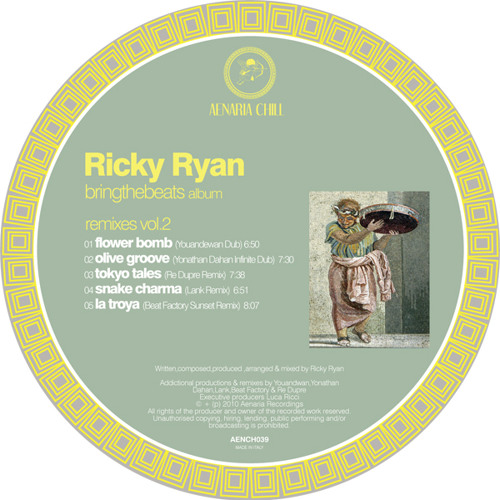 Ricky Ryan - Olive Groove (Yonathan Dahan Infinite Dub)