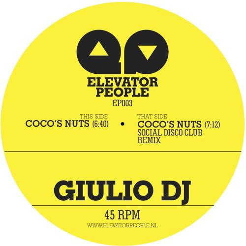 Giulio DJ - Coco's Nuts Original Mix (Elevator People EP003)
