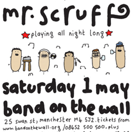 Mr Scruff live DJ mix from Band On The Wall, Manchester, Saturday 1st May 2010