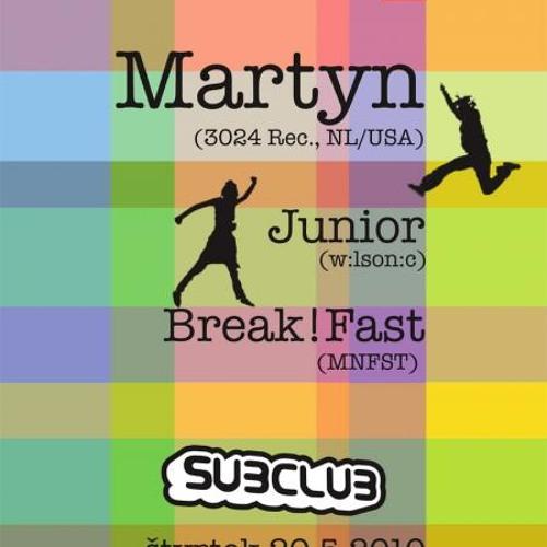 Demo set of Martyn's tracks by Subclub