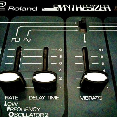 Roland SH3 and Korg KR55