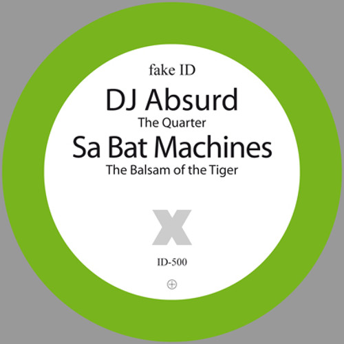 fake ID-500 DJ Absurd / Sa Bat Machines - split (Promomix by Phokus) RD: 21-June-2010