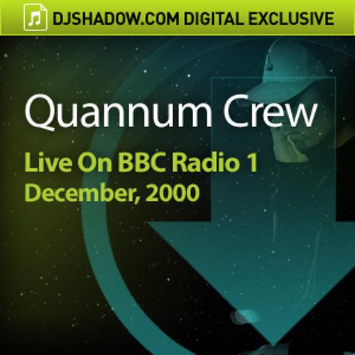 Quannum Crew Live On BBC Radio 1, December, 2000 -Snippet