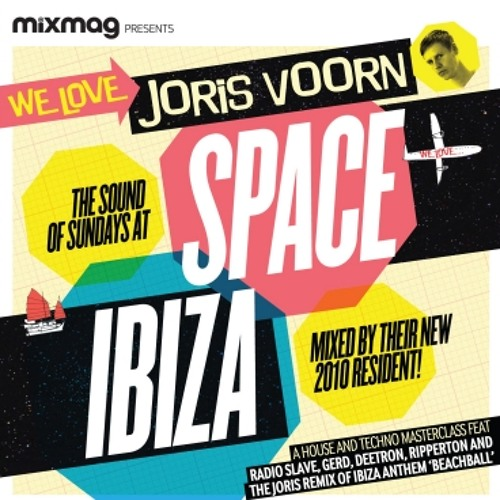Mixmag Presents: Joris Voorn - We Love The Sound Of Sundays Space Ibiza