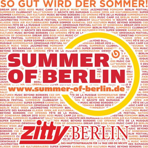 Zitty Trailer auf Radio Fritz mit Summer of Berlin