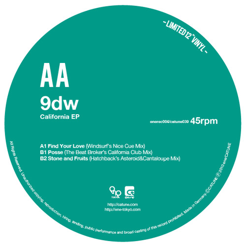 enerec004 B2: 9dw/Stone and Fruits (Hatchback's Asteroid and Cantaloupes Extended Dub)MP3