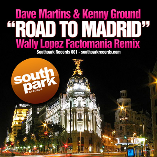 Dave Martins & Kenny Ground - Road to Madrid (Original mix)
