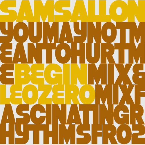 Sam Sallon - You May Not Mean To Hurt Me (Begin Mix)