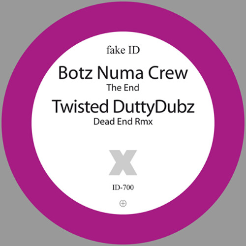 fake ID-700 BOTZ Numa Crew / Twisted - The End (Promomix by Phokus) RD: 09-Aug-2010