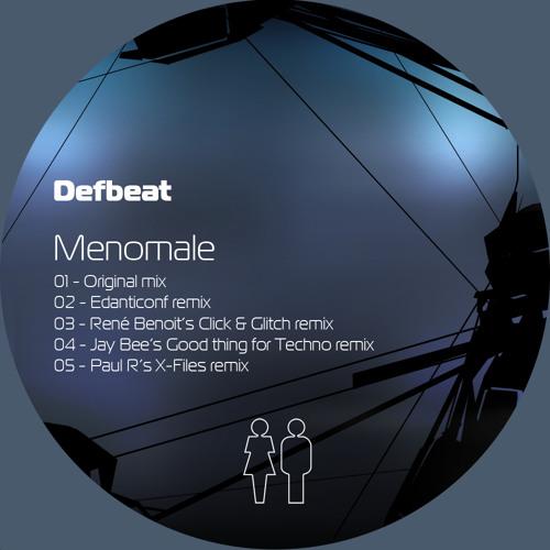 Defbeat - Menomale (Paul R's X-Files Remix)