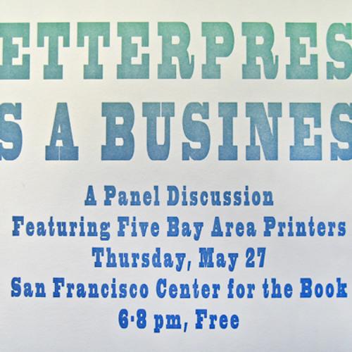 Letterpress as a Business