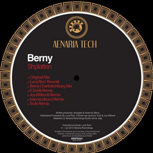 Berny - Shplatten (Joy Kitikonti Remix)  Aenaria Music