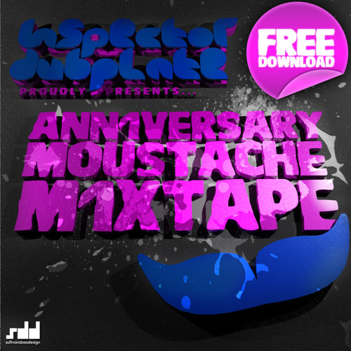 Inspector Dubplate - The Moustache Mixtape