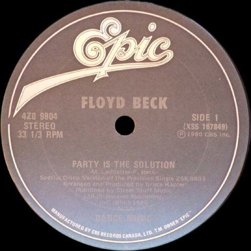 Floyd Beck - Party Is The Solution