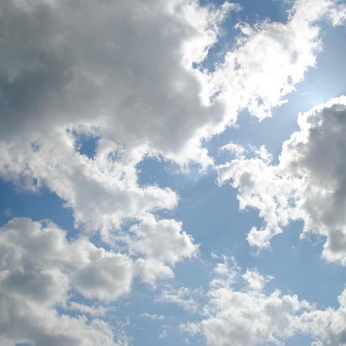 Au ciel (étude)
