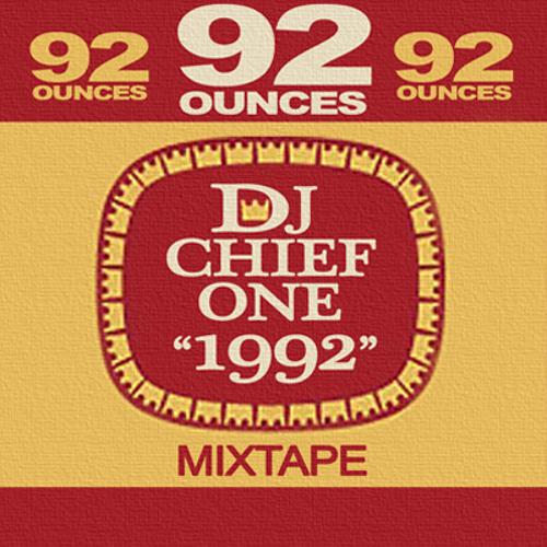 DJ CHIEF-ONE - 1992 MIXTAPE  (2010)