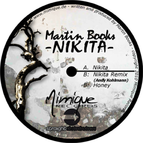 .mimique1 - MARTIN BOOKS - NIKITA EP - NIKITA