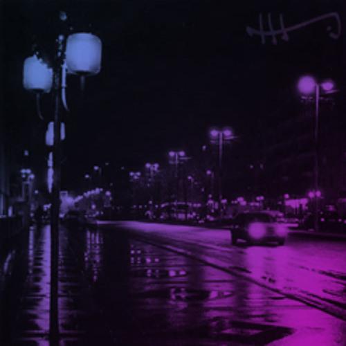 Le trottoir à minuit