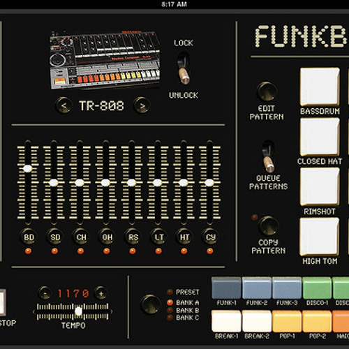 Funkbox iPad -TR-808 Loop
