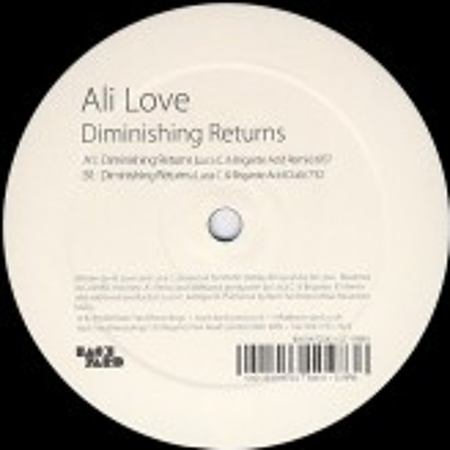 Ali Love - Diminishing Returns (Luca C & Brigante ACID DUB)