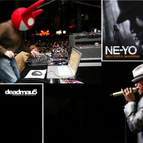 Deadmau5 vs. Ne-Yo - Beautiful Ghost N' Stuff Monster (DJ Hooligan Mash-Up)