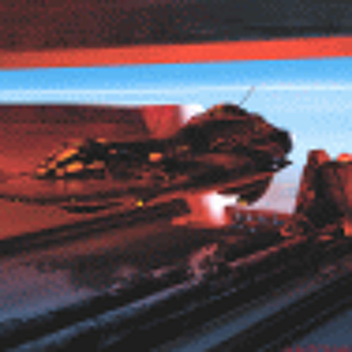 Michau Wybraniec - Red Space Ship