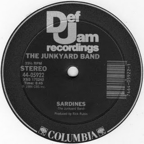 The Junkyard Band - Sardines (Steve DeNiro Rockswell edit)
