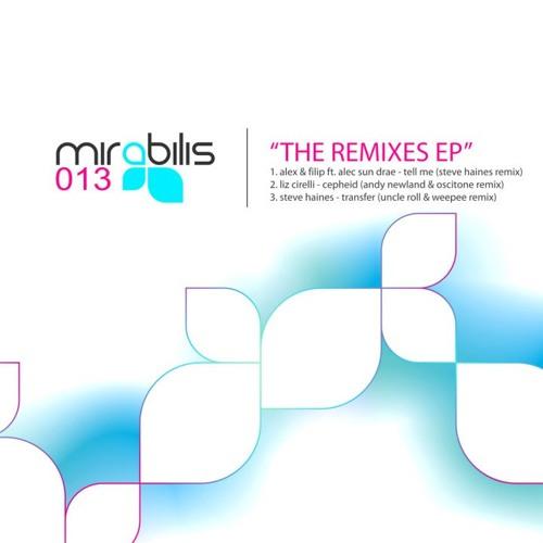 Alex & Filip - Tell Me feat. Alec Sun Drae (Steve Haines Remix) [Mirabilis]
