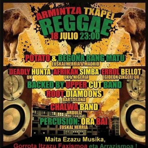Txapel Reggae by King Konsul & Bita backed by Chalwa Band