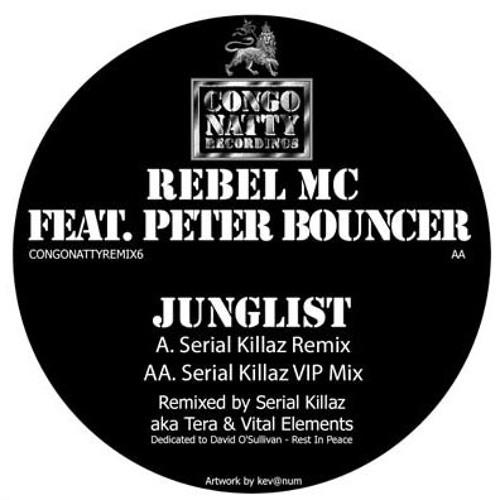 Rebel MC & Peter Bouncer - Junglist (Serial Killaz Remix) - Congo Natty