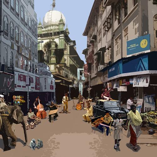 Beauty and the Beats - Bombay Dub Orchestra (Dev Nitros Slum Dog Remix)